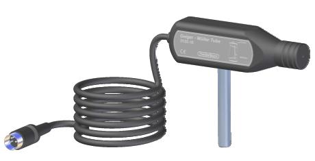 GM-rør på stang med DIN-plug