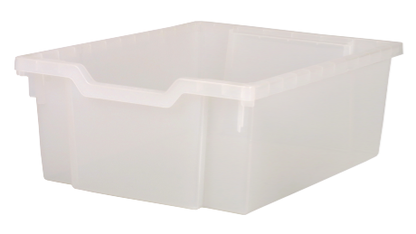 Plastbakke 31 x 43 x 15 transparent
